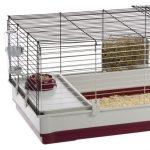 La caseta para conejos grandes Krolik 140 Plus se suministra con los accesorios necesarios