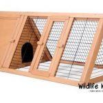 La caseta para conejos medianos Wildlife Kingdom está confeccionada con materiales duraderos