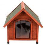 La caseta para perros medianos Spike Confort es ideal para exteriores