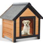 Caseta para perros pequeños PawHut pesa 14 Kg
