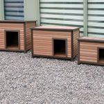 La caseta para perros pequeños Rosewood es práctica y funcional
