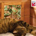 los días de descanso serán mejores con la caseta para gatos con ventana y autocalentamiento