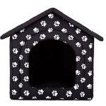 La caseta para perros pequeños Hobbydog tiene una puerta de 29 x 28 cm
