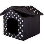 La caseta para perros pequeños Hobbydog tiene una cremallera para adherir el techo