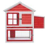 la caseta para gallinas mediana oneConcept Villa Gallo incluye un espacio para nido
