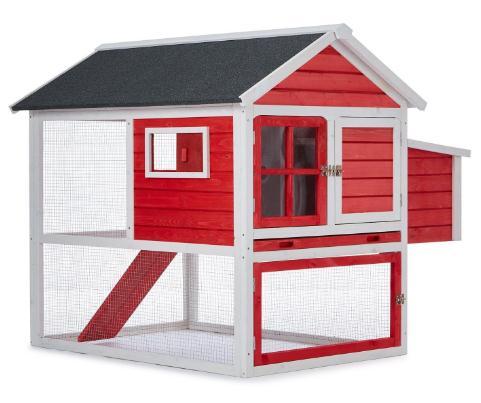 la caseta para gallinas mediana oneConcept Villa Gallo tiene estilo sueco