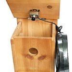 La caseta para pájaros Bestok posee una cámara de observación