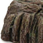 La cueva de resina para tortugas es fabricada en resina