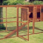 El gallinero grande Starter tiene una gran puerta de acceso